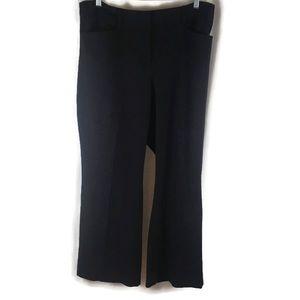 Lane Bryant Plus Size Dark Blue Wide Leg Pants